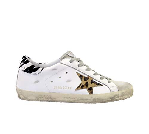 Golden Goose Sneakers Superstar - Zapatillas Deportivas, Color Blanco