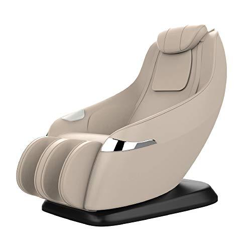 Home Deluxe - Massagesessel beige - Relaxsessel Attiva - inkl. komplettem Zubehör