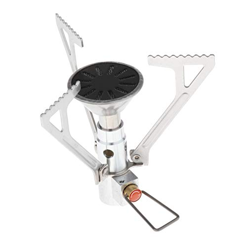 freneci Backpacking Stove Portable Camping Stove Stable Supports Ultralight for Camping Hiking and Backpacking Trips Cooking