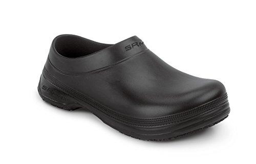 SR Max Hatteras Men's Black Vegan Molded Clog (14.0 EW)