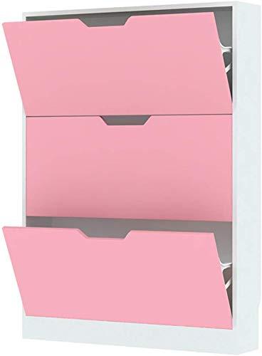 YLCJ Eenvoudige Huishoudelijke Multi-Network Schoenkast/Tilt Schoenendoos met Creatieve Tilt Emmer/Opslagkasten Moderne Open Haard (80 * 17 * 108 cm) Schoenendoos (Kleur: Blauw)