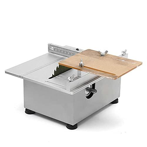 Mini Mesa de Mesa de Madera Banco de Trabajo Torno Pulidor eléctrico Molinillo DIY Modelo Sierra de Corte