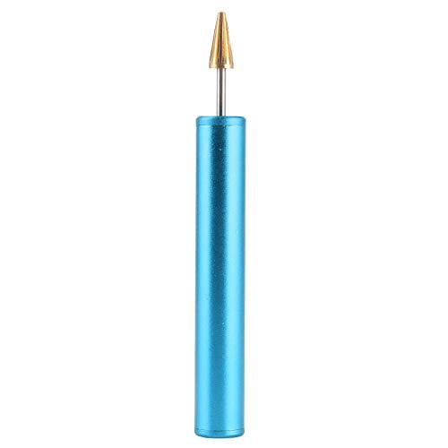Herramientas de cuero, paquete de cepillo de borde de tinte de cuero Fiebings, herramienta de borde de pintura, herramientas de cuero Tandy para manualidades de estudiantes(azul)