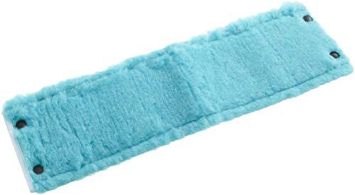 Leifheit Wischbezug Clean Twist XL static plus, für alle Bodenarten, zieht Staub und Haare an wie ein Magnet, Bodenwischer Ersatzbezug für glatte Böden, Staubwischer für trockene Bodenreinigung