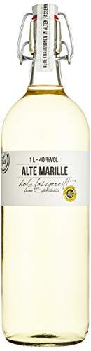 BIRKENHOF Brennerei | Alte Marille - feine holzfassgereifte Spirituose | (1 x 1l ) - 40 % vol.