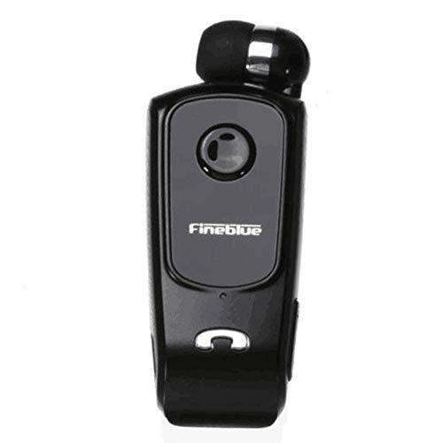 Auricolare Wireless Originale Cuffie F920 FineBlue in-Ear V4.0 Headset Avviso a Vibrazione Vivavoce per Smartphone (Nero)