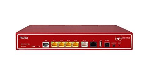 BINTEC RS353jv IP Access Router tafelapparaat incl. VDSL2 en ADSL2+ Modem Annex B/J en ISDN 1x ISDN-S0 incl. 5 IPSec Tunnel ALL-IP