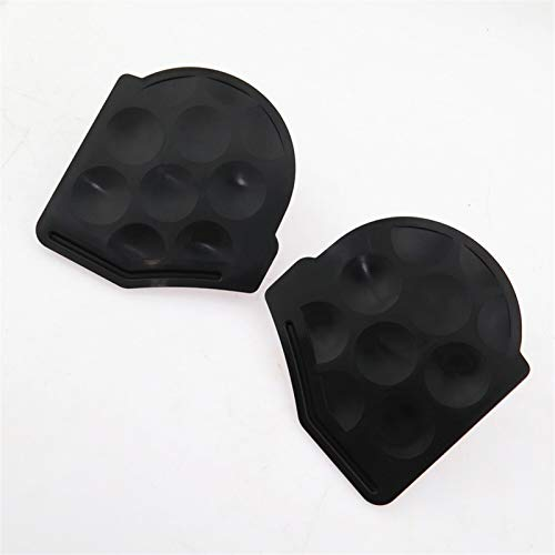 RONGSHU 1Pair Car Cover Plate Blocking Block Up Tamper Small Guard Plate Fit For VW Jetta Golf 6 MK6 1K0825961B 1K0 825 962 B