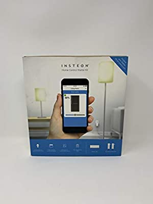INSTEON Home Control Starter Kit, 1 Hub & 2 Dimmer Modules - 2244-372, Works with Alexa