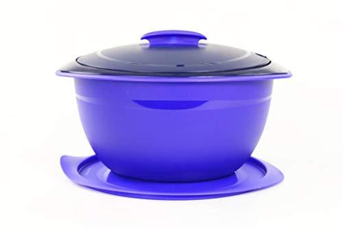 Tupperware Thermo-Duo 3,5 L blau Servieren Warmhalten Iso-Duo