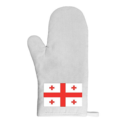 Mygoodprice Ofenhandschuh Topflappen Flagge Georgien