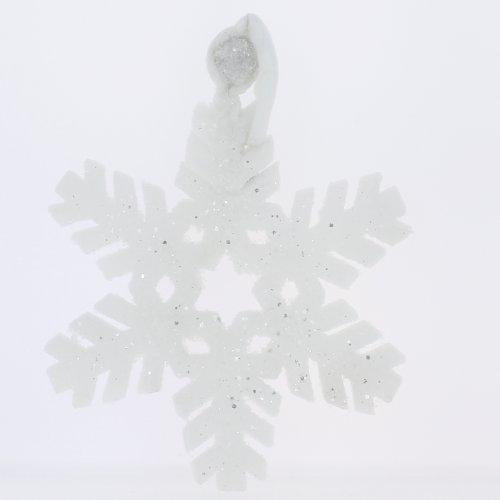 Générique - Flocon mousse lumineux led blanc froid