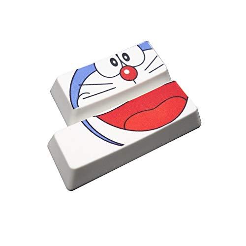 YEZIO Keycaps für Keyboards PBT Keycaps Enter/Shift-Tasten verdickte Sublimation Key Caps for MX-Schalter Mechanische Gaming Keyboard Universal (Colore : Argento)