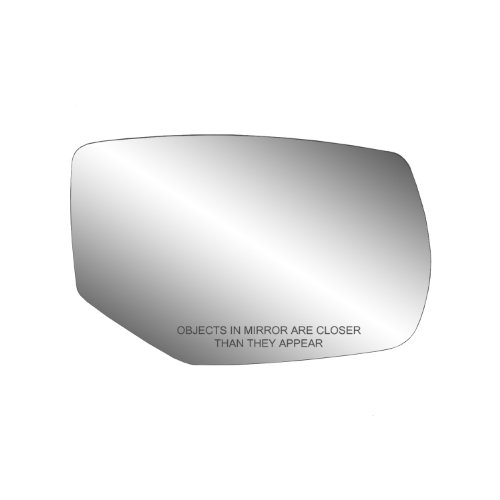 Fit System - 30269 Passenger Side Heated Mirror Glass w/Backing Plate, Honda Accord Coupe, Accord Hybrid, Accord Sedan, 4 13/16' x 7 3/8' x 7 15/16' (w/Turn Signal)