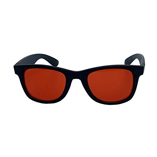 YHANS Farbenblinde Brille Leicht Korrekturbrillen Lebendige Farbe Für Diejenigen Mit Farbsehschwäche Schlagfest Rotgrüne Blindbrille