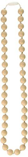 Price comparison product image Gumeez Lola Teething Necklace,  Oat,  One Size