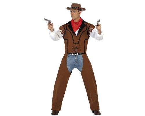 Atosa - 22904 - Costume - Déguisement Cowboy - Adulte - Taille 2