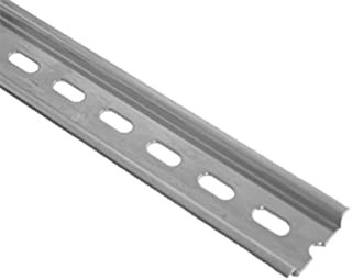 ASI PR005-1M Steel Slotted Din Rail (Pack of 10)
