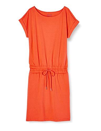ESPRIT Damen 040EE1E332 Kleid, 648/CORAL 4, S