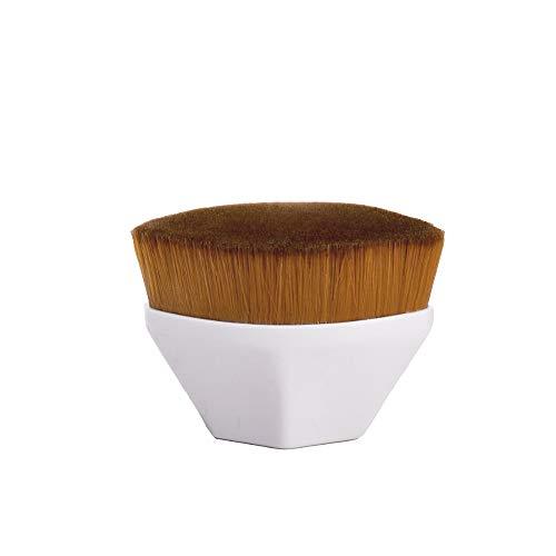 Sici Pinceau Fond de Teint Invisible Pinceau Fond de Teint Liquide Portable pour ne Pas Manger de Poudre Adapté au Mélange de Liquide de Crème ou de Poudre Le Correcteur est Un Outil de Beauté