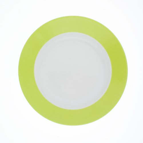 KAHLA Brunch-Teller, flach PRONTO COLORE, 23 cm limone (H.Nr. 576400A72456C)