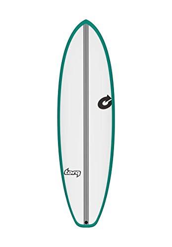 TORQ Epoxy Tec BigBoy23 6.6 - Tabla de Surf, Color Verde