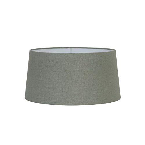 Light & Living Lampenschirm Rund Konisch/Drum Livigno - Celadon/Grün - 40-35-20 cm - Baumwolle/Leinen
