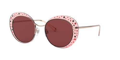 Giorgio Armani 0AR6079 Gafas de sol, Rose Gold, 52 para Mujer
