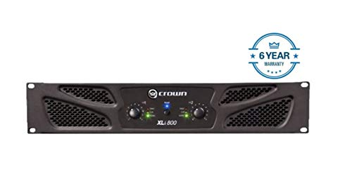 Lowest Prices! Crown XLi800 Two-channel, 300-Watt at 4Ω Power Amplifier