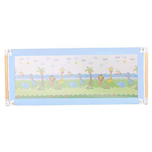 Shuai- Kinderzaun-Bett-Bett-einzelne faltende Sicherheitsbett-Stange mit dem Belüftungs-Netz passend for Königin-Bett-Abdeckung der Kinder (Size : 180CM)