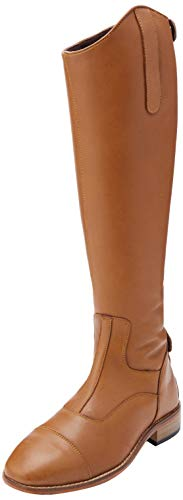 Harry's Horse Dames Rijlaarzen Elite Cognac Wide, 30000101