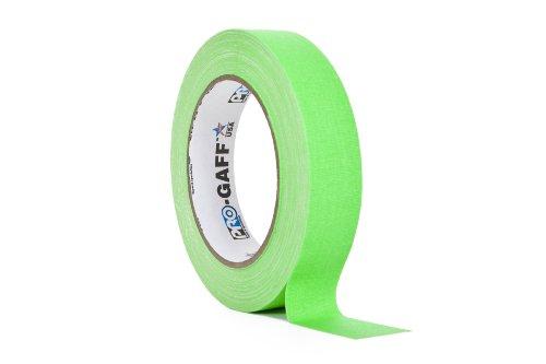 ProTapes/Permacel Klebeband, fluoreszierend, 24mm x 22,8m grün