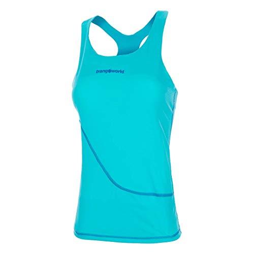Trango pc007997 T-Shirt, Femmes XL Bleu Turquoise/Bleu foncé