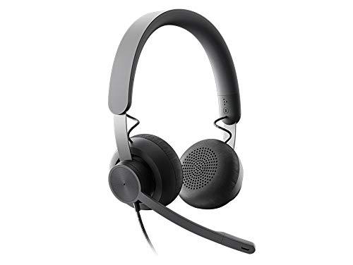 Logitech ZONE WIRED Headset Auricular profesional con micrófono...