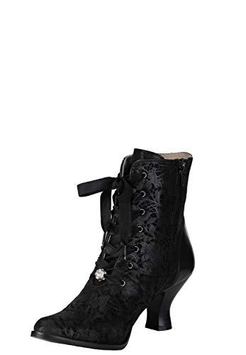 Stockerpoint Damen Schuh 6020 Stiefel, schwarz, 38 EU