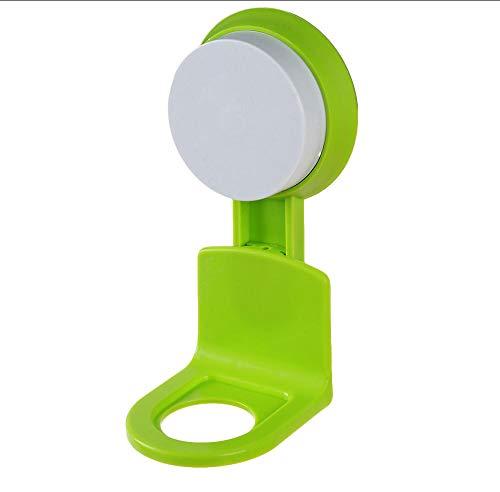 XOOYYY Starke Spurlose Saug Wandhaken Duschgel Shampoo Aufbewahrungshalter Rack Home Küche Badezimmer Aufbewahrungsorganisation 14 * 6,5 Cm-Grün