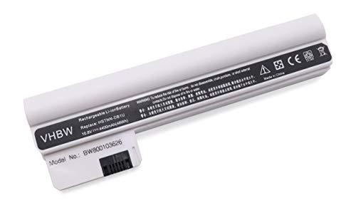 vhbw Li-ION Batterie 4400mAh 11.1V Ordinateur Notebook HP Compaq Mini 110-3098NR, 110-3099NR, 110-3100, 110-3100 CTO, 110-3100sg comme HSTNN-DB1U