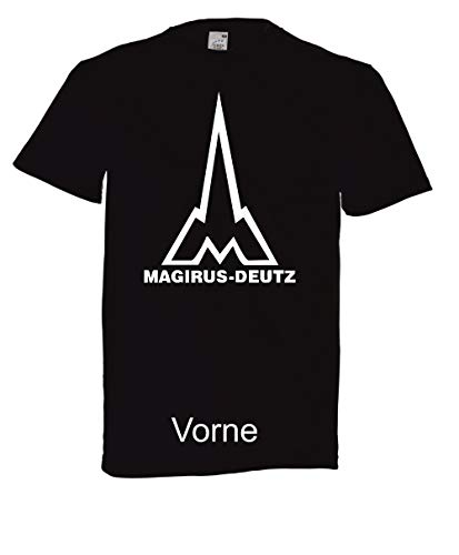 T-Shirt - Magirus-Deutz (Schwarz, M)
