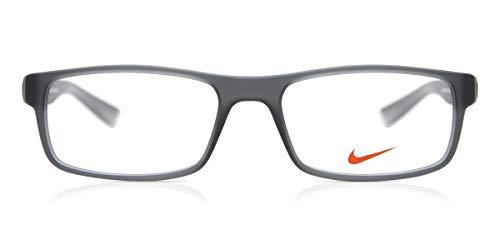 Nike Herren 7090 070 53 Brillengestelle, Grau (Matte Dark Grey/Clear)