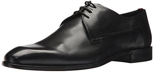 HUGO by Hugo Boss Men's Appeal Derby Dress Shoe Uniform, Black, 9.5 D(M) US
