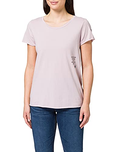 REPLAY W3327B Camiseta, Reloj de Cuarzo Rosa 513, S para Mujer