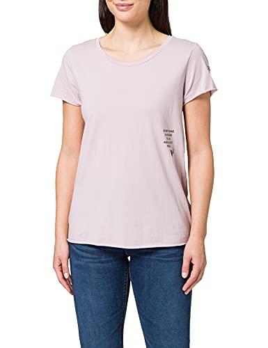 REPLAY W3327 Camiseta, Reloj de Cuarzo Rosa 513, S para Mujer