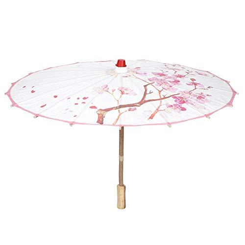 Fdit handbeschilderde klassieke decoratieve oliepapier paraplu dans prestaties rekwisieten paraplu handwerk decor cadeau MEERWEG AANBIEDING