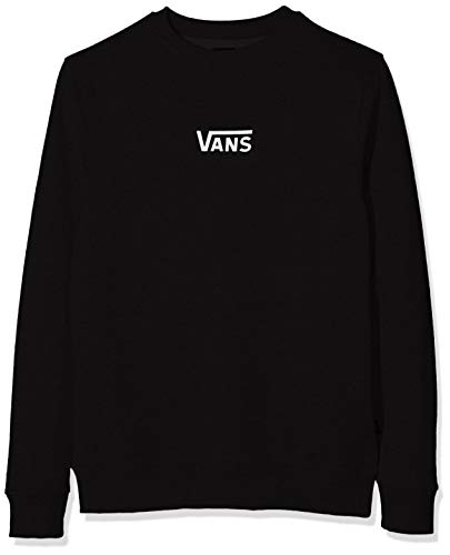 Vans French Terry Classic Crew Sudadera, Negro (Black Blk), X-Large para Hombre