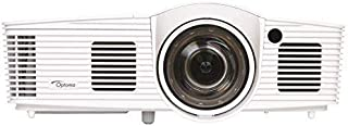 ZUEN GT1080Darbee 1080p 3000 ANSI Lumens Full HD Short Throw DLP Projector