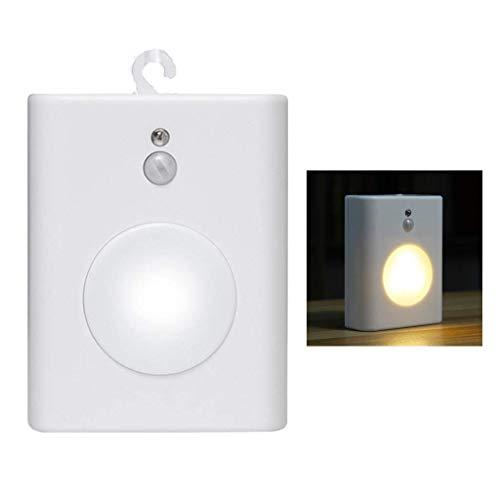 Motion Sensor Nachtlampje, draagbaar, accu-LED-wandlamp, 2 verlichtingsmodus, op batterijen, in elk geval voor trapkeuken