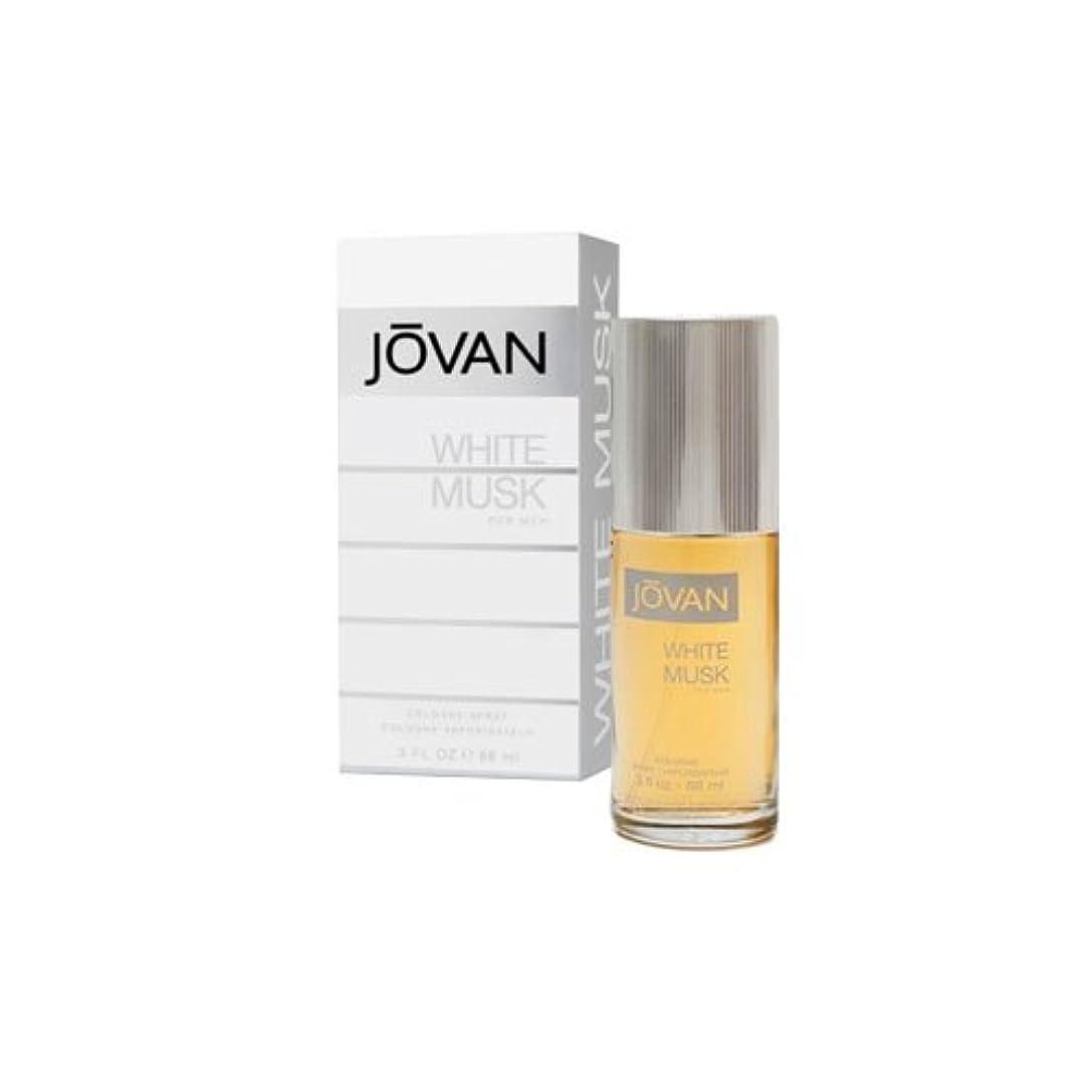 許容できる肺炎転倒JOVAN ジョーバン ホワイト ムスク フォーメン 88ml メンズ 香水 (並行輸入品)