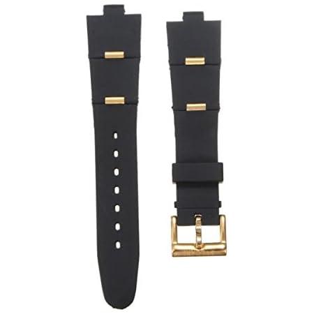 C-FUNN Oro Y Oro Rosa Sílice Gel Reloj Banda Watch Correa para Reloj-Gold-22Mm