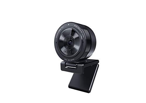 Razer Kiyo Pro - Caméra de streaming USB à capteur de lumière haute performance et prise en charge (webcam, vidéo Full HD 1080p, 60 FPS, HDR objectif grand angle, logiciel de streaming ouvert Xsplit)