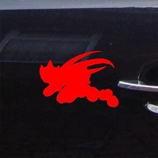 MACBOOK RED VINYL LAPTOP ADHESIVE VINYL CAR WALL DECORATION MEGA MAN CAR BIKE ROCKMAN ZERO HELMET AUTO DECOR DIE CUT DECAL STICKER WALL ART WINDOW HOME DECOR
